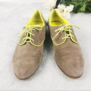 Dolce Vita suede oxford tie up loafers size 7.5